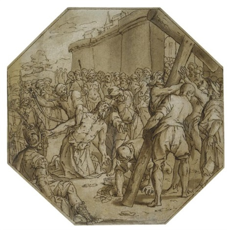 the martyrdom of st andrew by lazzaro tavarone