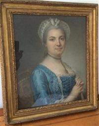 portrait de femme by simon-bernard lenoir