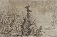 le martyre de saint sébastien by hans von aachen