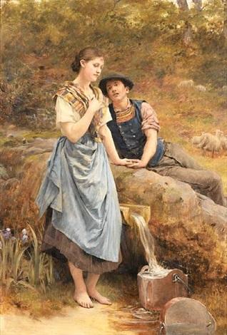 na izvoru at the spring by vlacho bukovac