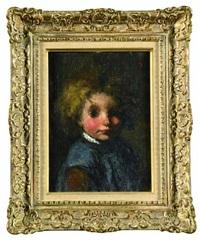 tête d'enfant by jacobs (jakob) smits
