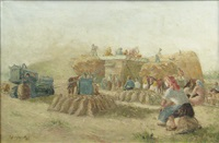 threshing by octavian angheluta