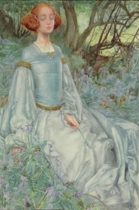 in springtime, the only pretty ring time when birds do sing (from as you like it) by eleanor fortescue-brickdale