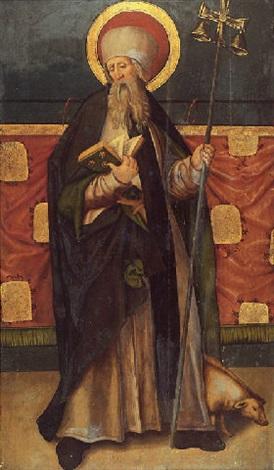 saint antoine abbé by hans suess von kulmbach