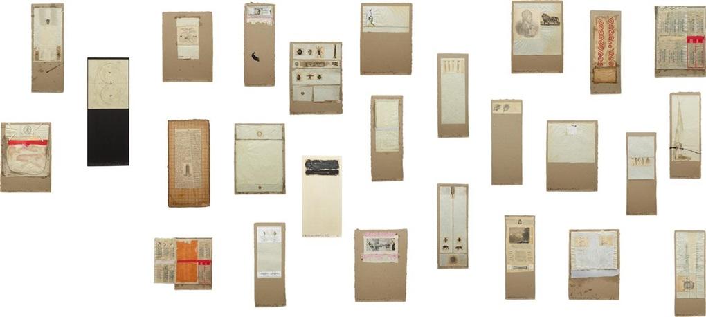 shirtboards, morocco, italy 52 portfolio (portfolio of 28) by robert rauschenberg