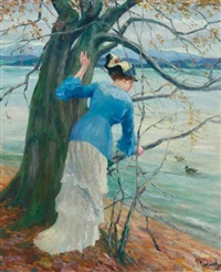 the old oak by edward cucuel