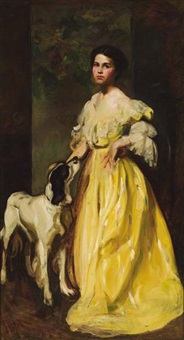 the yellow dress (maud l. murphy) by dewitt mcclellan lockman