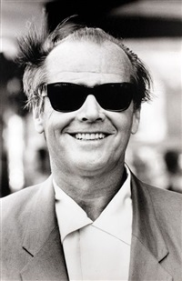 jack nicholson, paris by michel ginies