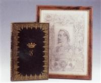projet d'un émail pour le portrait de napoléon iii by claudius marcel popelin-ducarre