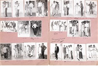 les intimes (portfolio of 22) by malick sidibé
