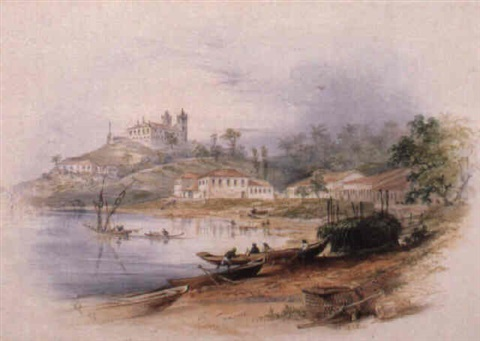 the fort of santa maria and the church of santo antonio da barra bahia by frederick tully lott