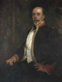 portrait of a gentleman by dewitt mcclellan lockman