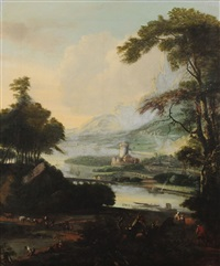 paysage by jacob de heusch