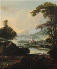 paysage by jacob de heusch