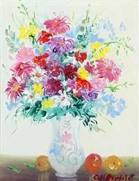 vase mit sommerstrauß by josep coll bardolet