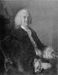 portrait de m. de gennes de lambert by luigi domenico soldini