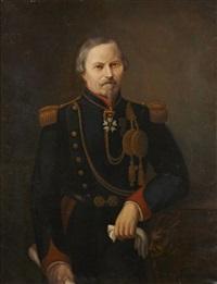 portrait posthume du lieutenant colonel françois-huningue guilland by aiguy