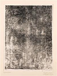 reflets embués (from le vide et l'ombre) by jean dubuffet