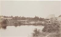 paysage du loiret by henri courmont