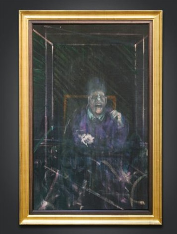 untitled pope by francis bacon