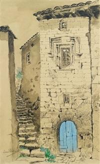 ardèche (+ ardèche, une maison de la vieille rue, smllr; 2 works) by louise marie peyre