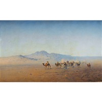 la caravane by henrik august ankarcrona