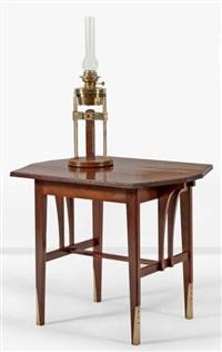 table de milieu modèle wagner by gustave serrurier-bovy