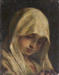 vierge priant by mauro gandolfi