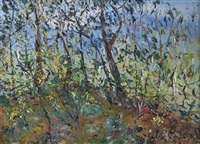 landscape with leaves by celia perceval