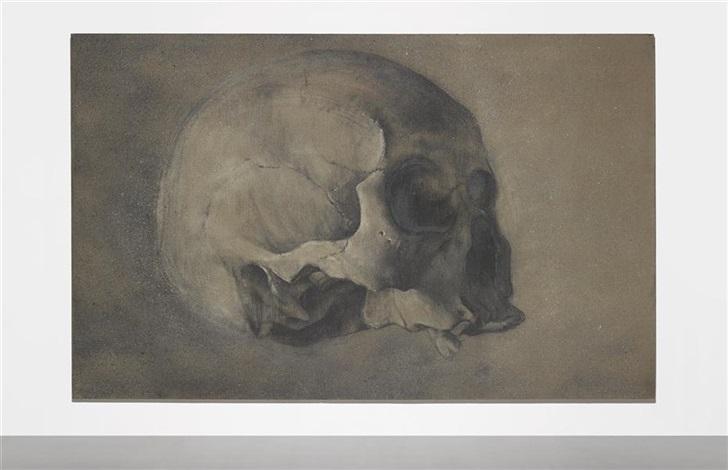 ash skull no. 6 by zhang huan