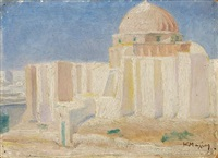 the great mosque of kairouan by konstantinos maleas