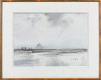 le mont-saint-michel by pierre brette