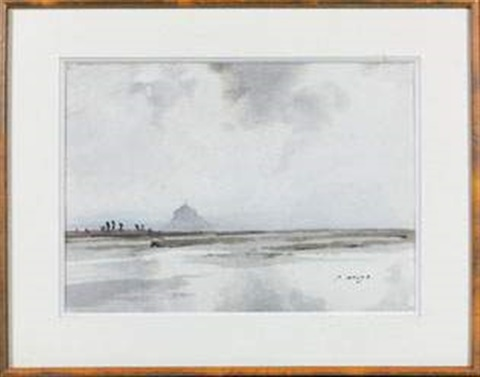 le mont saint michel by pierre brette