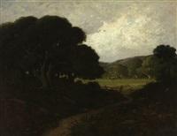 oaks near san rafael, california by william keith
