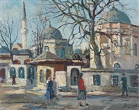 sainte-sophie, istanbul by ibrahim safi
