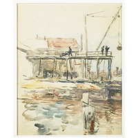 waterfront by colin campbell cooper