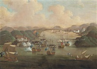 the capture of porto bello, 21st november 1739 by samuel scott