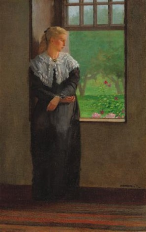 reverie by winslow homer