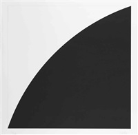 black curve i (white curve i) by ellsworth kelly