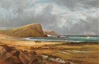 ellen's head, phillip island by thomas wright
