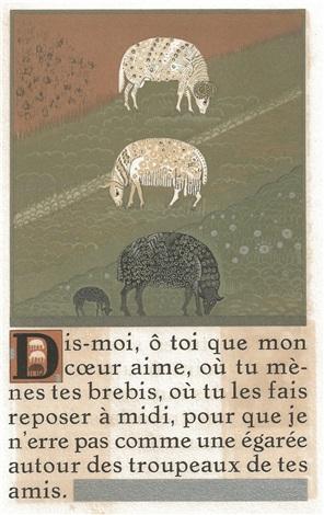 le cantique des cantiques bk wworks by françois louis schmied