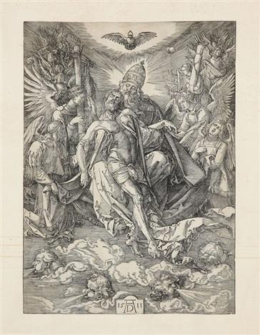 la sainte trinité by albrecht dürer