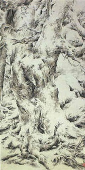 tree in winter by zeng xiaojun
