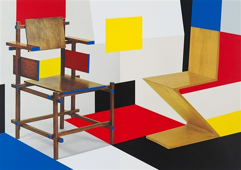 putting on de stijl by richard hamilton