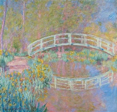 Pont dans le jardin de monet by claude monet on artnet - Les jardins de claude monet ...
