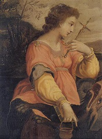 saint margaret by michelangelo anselmi
