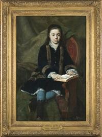 portrait of mademoiselle l.c. by pawel merwart