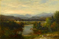 starr king view, west compton nh by samuel lancaster gerry