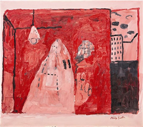 inside by philip guston