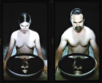 basin of tears (diptych) by bill viola